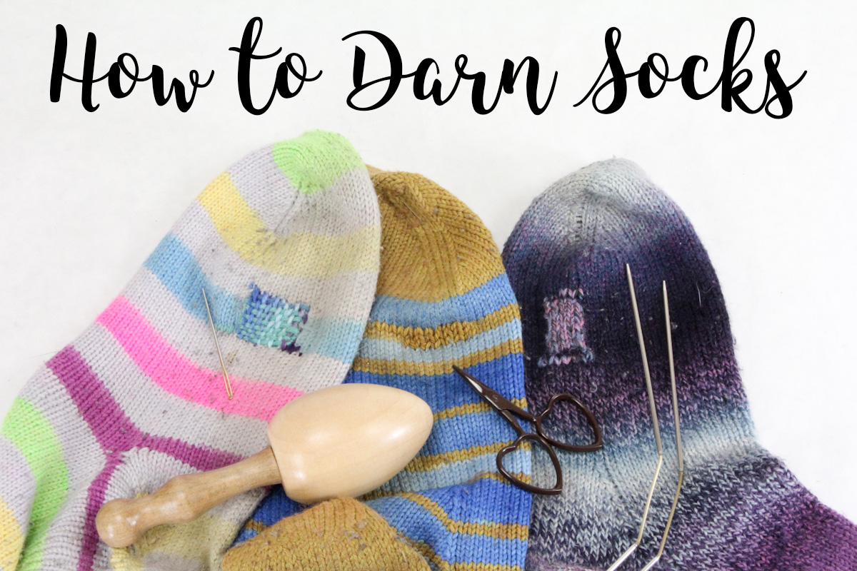 How to Darn Socks